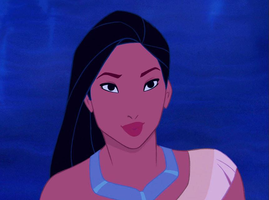 Khi cac cong chua Disney bi  tay trang -hinh-anh-1