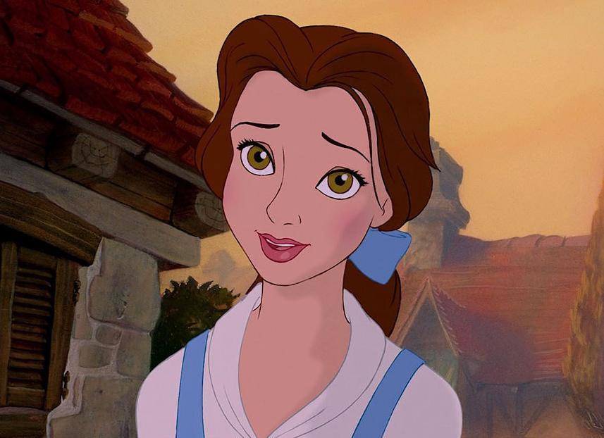 Khi cac cong chua Disney bi  tay trang -hinh-anh-11