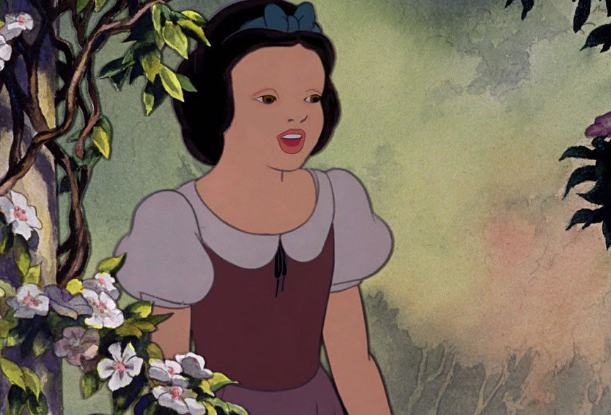 Khi cac cong chua Disney bi  tay trang -hinh-anh-16