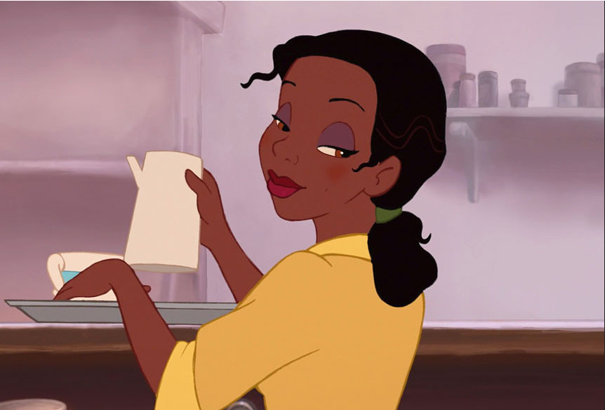 Khi cac cong chua Disney bi  tay trang -hinh-anh-9