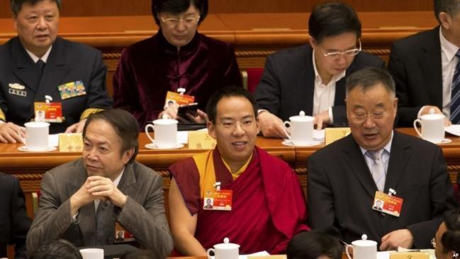 Ban Thiền Lạt Ma do Trung Quốc chọn lựa trong một cuộc họp Quốc hội Trung Quốc