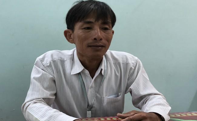 Ông Trần Thanh Hiếu, Phó chủ tịch UBND xã Đức Lân