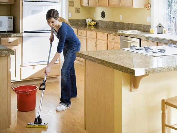 Dọn dẹp nhà cửa đón Tết giúp giảm calo không cần thể dục