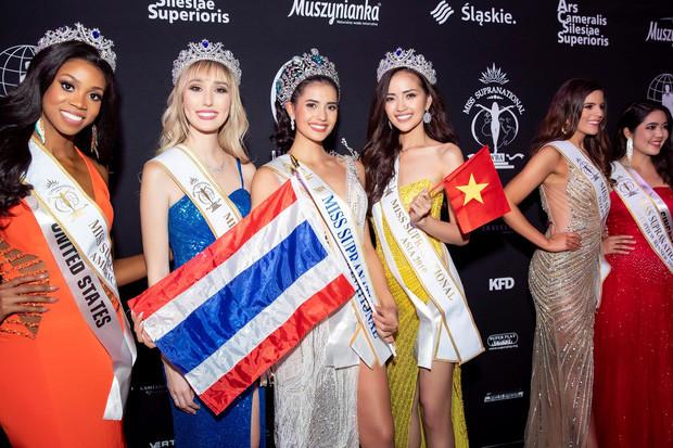 Mỹ nhân Thái Lan đăng quang, Ngọc Châu giật giải Hoa hậu Châu Á cùng thành tích Top 10 trong chung kết Miss Supranational 2019 - Ảnh 9.