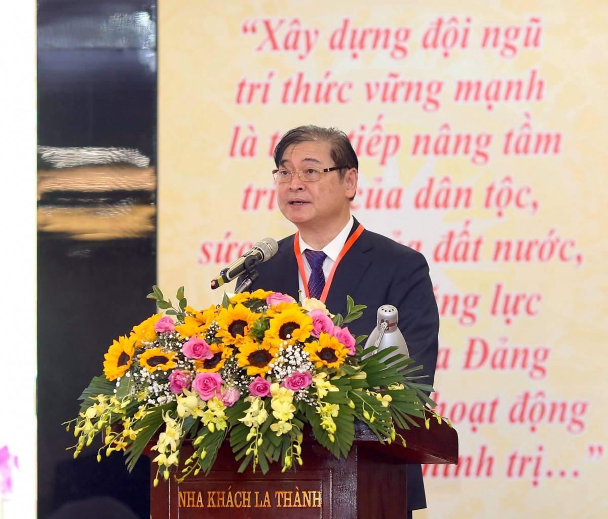 Tiến sĩ Phan Xuân Dũng trở thành Tân Chủ tịch Liên hiệp Hội Việt Nam.