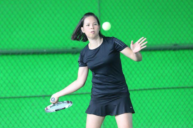 Hào hứng giải quần vợt giao lưu đồng hành cùng Vòng chung kết U.19 - ảnh 8