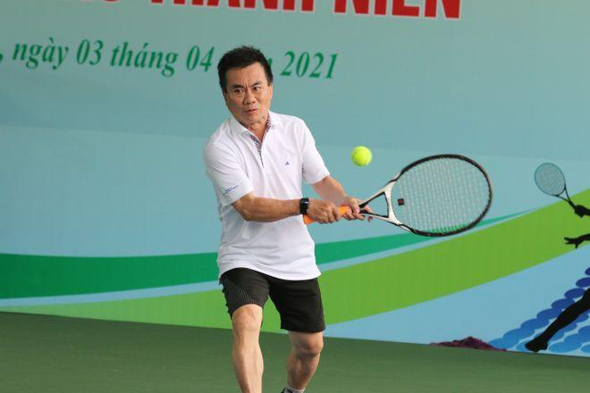 Hào hứng giải quần vợt giao lưu đồng hành cùng Vòng chung kết U.19 - ảnh 9