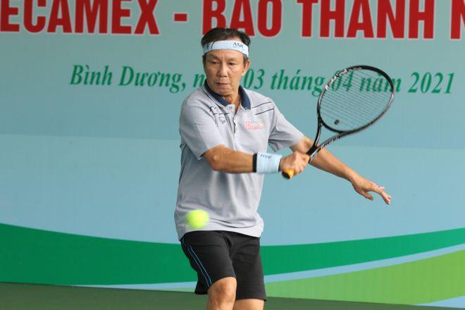 Hào hứng giải quần vợt giao lưu đồng hành cùng Vòng chung kết U.19 - ảnh 6