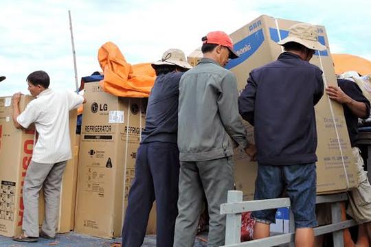 Dân đảo Lý Sơn đổ xô mua TV vì tuyển U-19