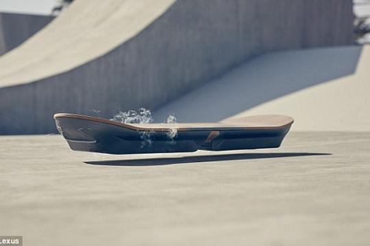 Ván trượt bay siêu sang của Lexus, không chỉ là 'khoa học viễn tưởng'