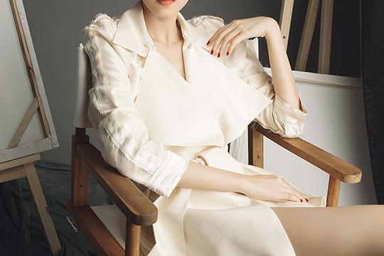 Hoa hậu Thu Thảo trong trang phục của NTK Lâm Gia Khang
