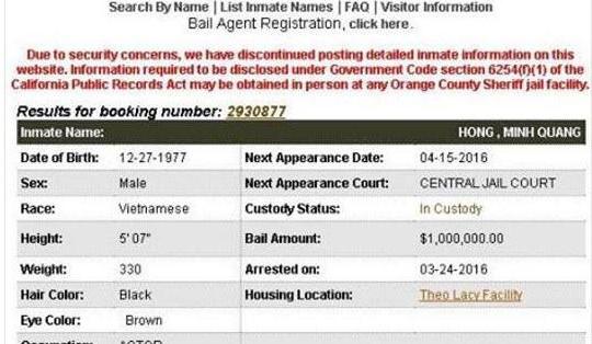 Lộ bằng chứng Minh Béo nộp phạt 22 tỷ tiền phạt tại Mỹ