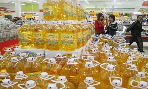 Tiếp tục áp thuế tự vệ với dầu thực vật nhập khẩu do DN nội kêu khó