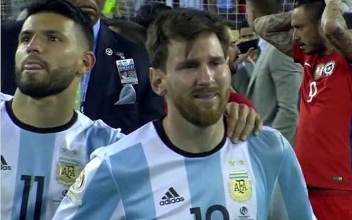 Messi từ giã tuyển Argentina, di Maria và Mascherano cân nhắc đi theo