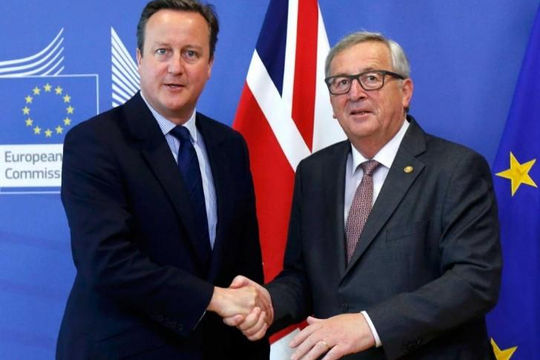 Thủ tướng Anh Cameron không được cấp phanh hãm khẩn cấp dòng di cư