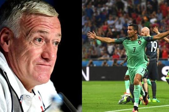HLV Deschamps không tìm ra công thức ngăn cản Ronaldo