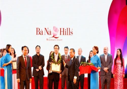 Tổng cục Du lịch vinh danh Bà Nà Hills là Khu du lịch hàng đầu Việt Nam