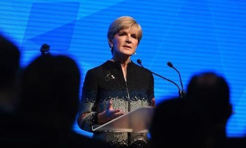 Ngoại trưởng Úc ngạc nhiên trước phản ứng giận dữ của Trung Quốc