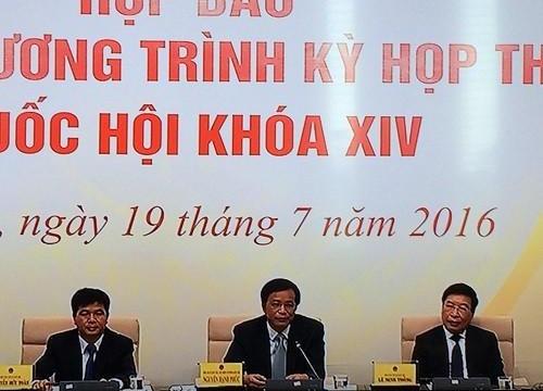 Phán quyết của Tòa Trọng tài không được báo cáo tại kỳ họp thứ nhất, QH khóa 14