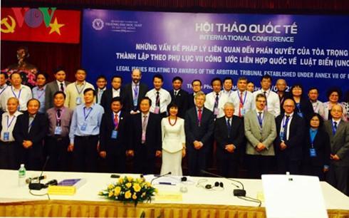 Hội thảo Biển Đông: Phán quyết từ Tòa Trọng tài PCA mang tính lịch sử