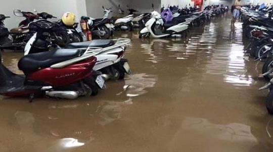 """Ngập lụt khiến chủ đầu tư """"rót"""" nhiều tiền hơn cho tầng hầm"""