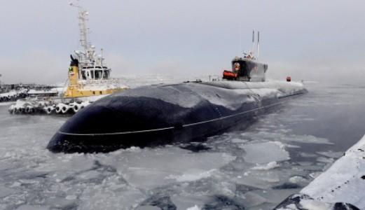Hạm đội Thái Bình Dương Nga tăng cường tàu ngầm hạt nhân