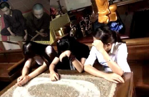 Danh tính nam sinh đưa ba cô gái vào chùa đánh bạc với 'sư'