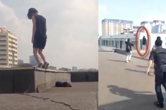 Trường Cao đẳng Du lịch Hà Nội lên tiếng về clip nữ sinh nhảy từ tầng thượng