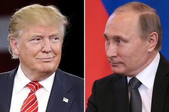 Tổng thống Putin và ông Trump điện đàm: 'không thỏa mãn' với quan hệ Nga - Mỹ