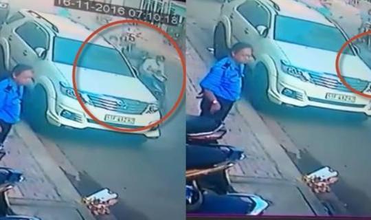 Clip giật túi xách khiến nạn nhân té gãy xương, công an bắt kẻ ngáo đá tìm bạn gái