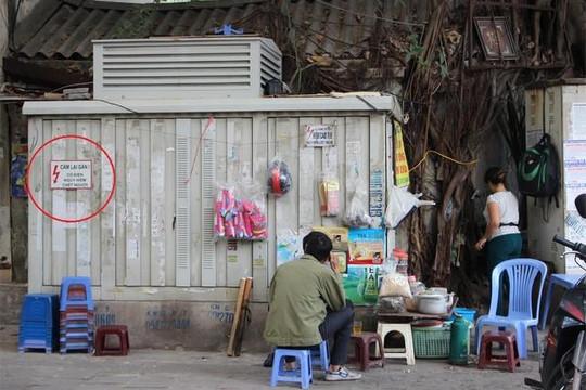 Nguy hiểm rình rập từ những bốt điện trên phố Hà Nội