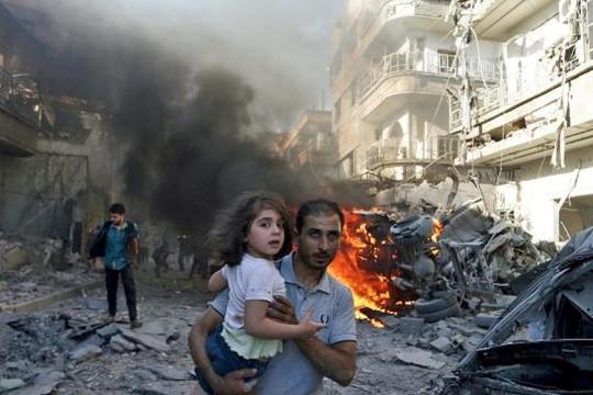 Phe nổi dậy Syria ngăn chặn dân thường rời khỏi Aleppo