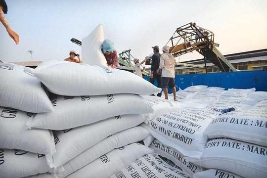 11 tháng đầu năm: Xuất khẩu gạo giảm 25% khối lượng