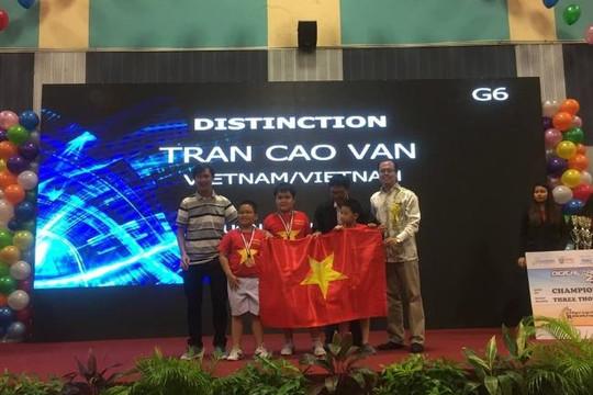 Học sinh Đà Nẵng giành 2 giải nhất cuộc thi Robothon quốc tế 2016
