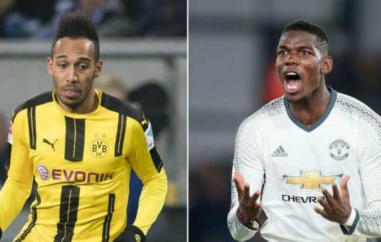 'Pogba giá 105 triệu euro, Aubameyang phải đến 150 triệu euro'