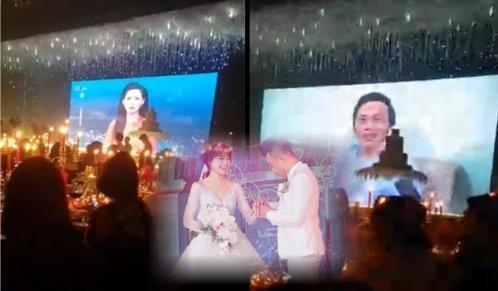 Phát clip sốc ở đám cưới Trấn Thành - Hari Won, MC bóc mẽ chú rể và cô dâu