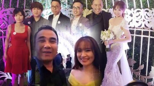 Clip MC Quyền Linh livestream ở đám cưới của Trấn Thành - Hari Won