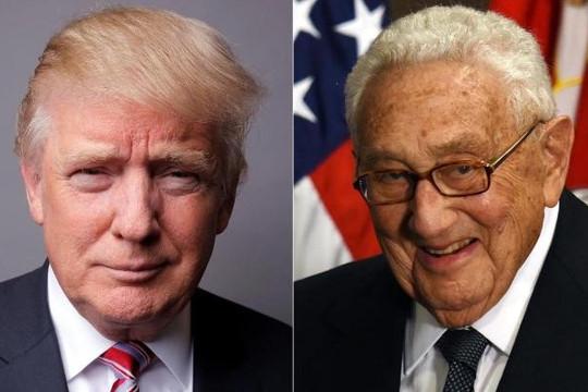 Henry Kissinger khuyên ông Trump công nhận bán đảo Crimea thuộc Nga