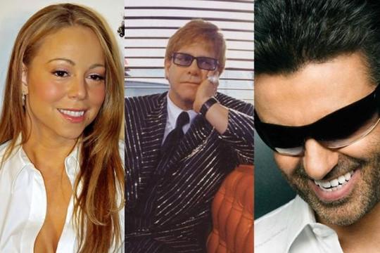 Mariah Carey và Elton John hát gây quỹ cho cộng đồng LGBT