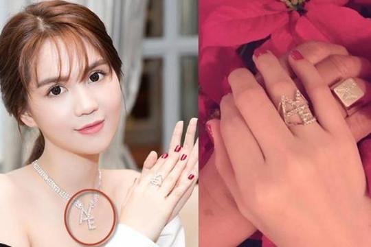 Giải mã thông điệp bộ trang sức kim cương ông Hoàng Kiều tặng Ngọc Trinh