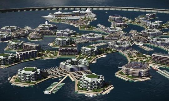 Các tỷ phú công nghệ thông tin muốn xây dựng quần đảo nhân tạo