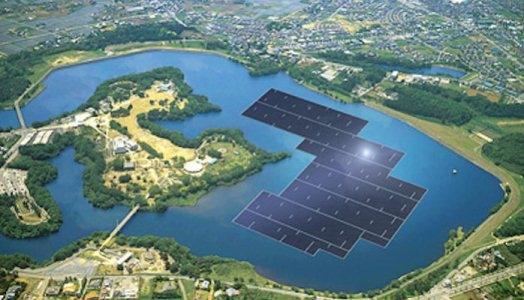 Thế giới lên cơn sốt với các nhà máy điện Mặt trời nổi
