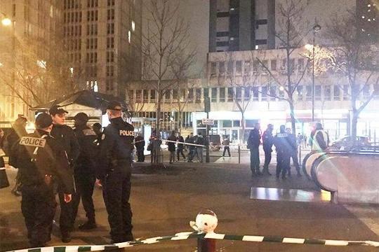 Sơ tán khẩn cấp do nổ lớn ga tàu điện ngầm ở Paris