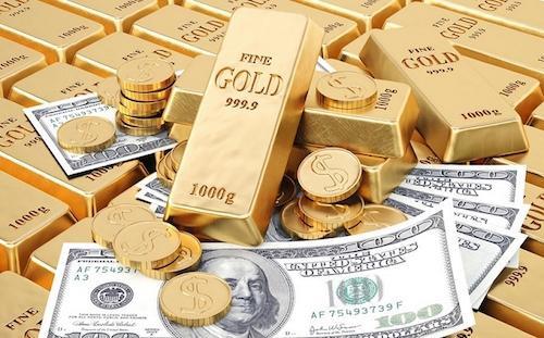 23.2: Giá USD và giá vàng cùng tăng