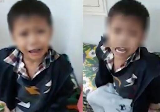 Cậu bé xin lỗi cô giáo dạy trẻ gây sốt: Con không muốn làm điều ác nữa!