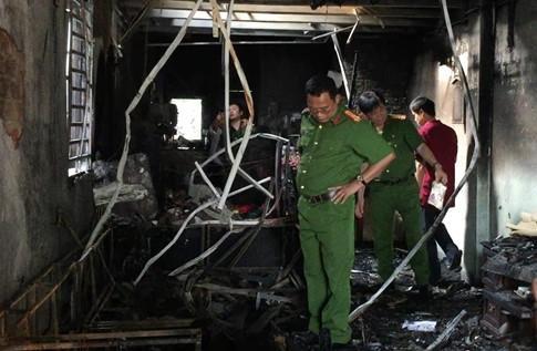 Chập điện cháy nhà ở Bình Dương: 4 người bị ngạt khói trước khi chết cháy