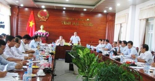 Thanh tra Chính phủ công bố quyết định thanh tra đất và môi trường tại Hậu Giang