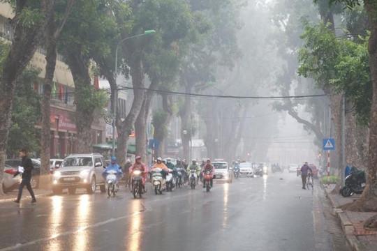 Miền Bắc trở rét, nhiều nơi mưa, cần đề phòng giông lốc