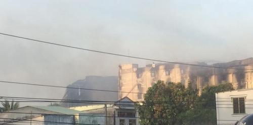 Lửa cháy trở lại tại Công ty Kwong Lung - Meko