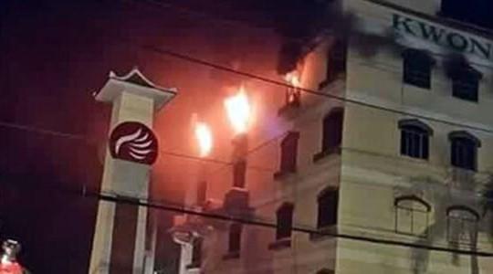 Cháy lại bùng phát ở khu công nghiệp Trà Nóc